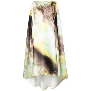Rubin Singer printed shift dress - Green Multi