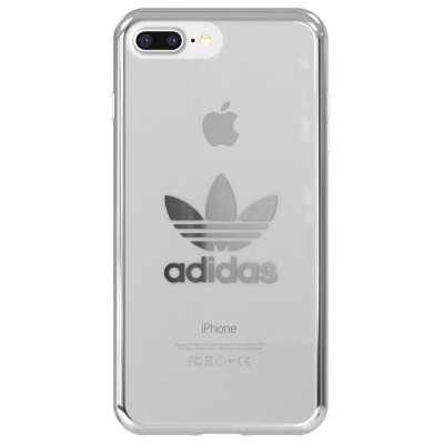 adidas iPhone 8 Plus/7 Plus/6s Plus/6 Plus用OR-clear case adidas Originals Silver logo 29186 [29186]