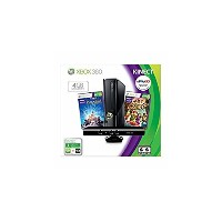 Xbox 360 4GB Console with Kinect Holiday Value(US Version imported by uShopMall U.S.A.)