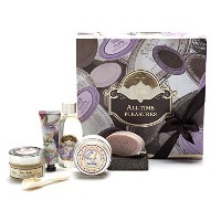 【SABON(サボン)】ギフトセット ALL TIME PLEASURE KIT (パチュリラベンダーバニラ)ショッパー付き