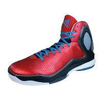 adidas D Rose 5 Boost Mens Basketball Sneakers / Shoes-Red-35.5