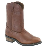 AdTec Mens 11in Western Ranch Wellington Boots Tumble Brown Size 11 D(M) US