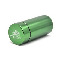 """Stash Jar–"""" Stay Stoned """" Airtight Water Proof / Smell Proofアルミハーブコンテナボトル"""