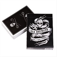 Sea Shepherd Playingカードデッキby Ellusionist – Supports海洋野生動物