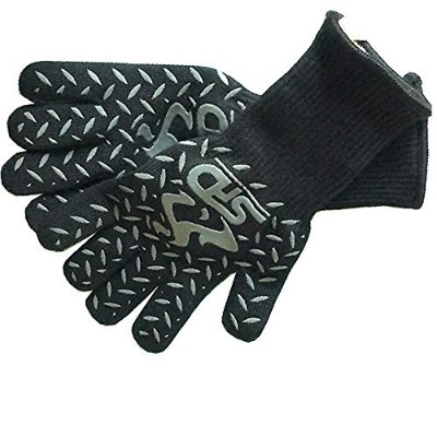 Cooking Gloves Heat Resistant - Spd 932Cf Extreme High Heat Bbq Grill Gloves -