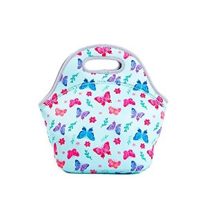 Tuoy Insulated Lunchバッグ – ネオプレンLunch Bag – Large Reusableランチトートバッグレディース、ティーン女の子、子供、赤ちゃん、大人 –...