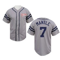 Mickey Mantle CooperstownヒーターJersey by Majestic