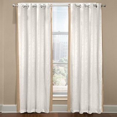 Veratex The Central Parkコレクション100%リネンMade in the USAモダン&エレガントなグロメットWindow Valance グリーン 615221