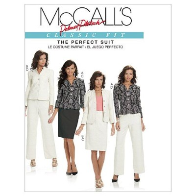 McCall's Patterns M6042 Misses' Lined Jackets, Skirt And Pants, Size FF (16-18-20-22) by McCall's...