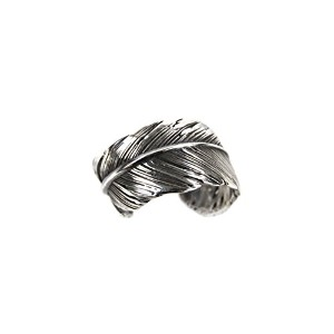 ハリム HARIM 指輪 リング HARIM FEATHER RING 2 SVBK HRR040 OX SILVER 925 OXIDIZED BLACK 即日発送 19号 (コード...