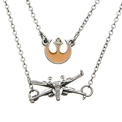 Star Wars - X-WING POE DMRON TIERED, Officially Licensed Artwork - Necklace