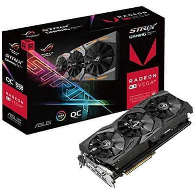 【送料無料】 ASUS グラフィックボード AMD Radeon RX VEGA64搭載 PCI-Express ROG-STRIX-RXVEGA64-O8G-GAMING[8GB/Radeon...