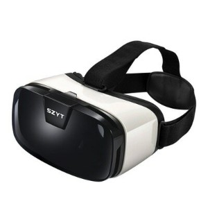 3D VRゴーグル VRヘッドセット 4-6.5インチ スマホ用 360°ビュー Gear VR Virtual Reality HeadSet 3D Viewing Glasses...