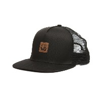 LRG メンズ 帽子 キャップ【icons trucker snapback hat】Black