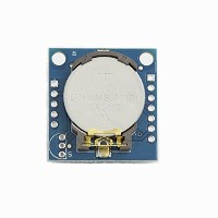 ILS - 5 pieces Tiny RTC I2C AT24C32 DS1307 Real Time Clock Module With CR2032 Battery For Arduino