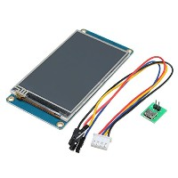 ILS - 3.2 Inch Nextion HMI Intelligent Smart USART UART Serial Touch TFT LCD Screen Module For...
