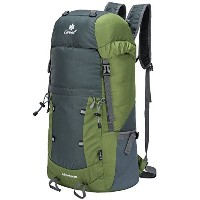 Coreal 40l軽量折りたたみ式バックパックハイキング旅行Packable Daypack