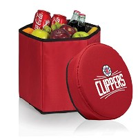 NBA Los Angeles Clippers Bongo Insulated Collapsible Cooler ,レッド
