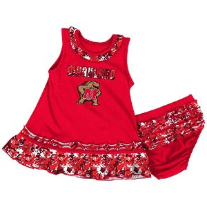 University of Maryland Terps Infant Fountainドレスセット