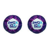 Swax Lax ( 2 - Pack )ソフトラクロスWeightedトレーニングボール