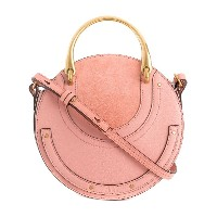 Chloé Small Pixie shoulder bag - ピンク&パープル