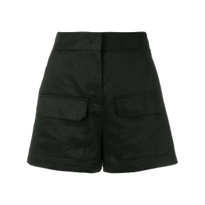 MSGM high-waisted shorts - ブラック