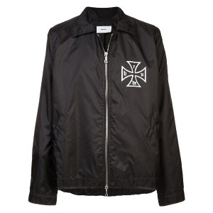 Rhude Coach jacket with embroidered patch - ブラック