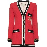 Gucci Wool Sablé Military Jacket - レッド