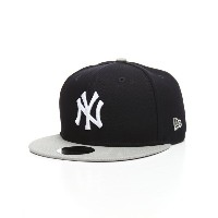 ニューエラ メンズ 帽子 キャップ【9fifty new york yankees side stated snapback hat】Navy