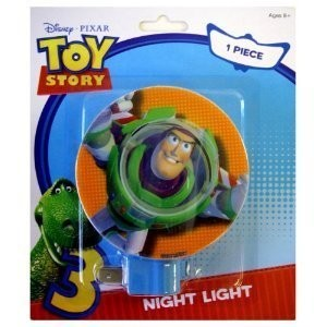 Disney Pixar Toy Story 3 Buzz Lightyear Kids Room Nursery Night Light by Home and Living [並行輸入品]