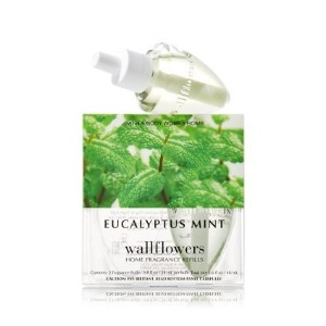 【Bath&Body Works/バス&ボディワークス】 ホームフレグランス 詰替えリフィル(2個入り) ユーカリミント Wallflowers Home Fragrance 2-Pack...