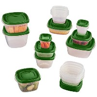 Rubbermaid Easy Findふた食品ストレージセット 30-Piece