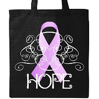 Inktastic–hope-testicular Cancer Awarenessトートバッグ One Size ブラック