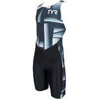 TYR(ティア) TRI-SUIT FOR SHORT COMP W/BACK ZIPPER SMST1-18S BK M