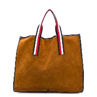 Tommy Hilfiger striped handle tote - ブラウン