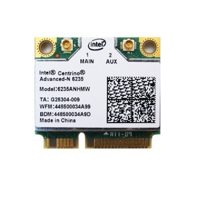 Intel Centrino Advanced-N 6235 802.11a/b/g/n 最大リング300Mbps WIFI + BlueTooth 4.0 Combo Card ...