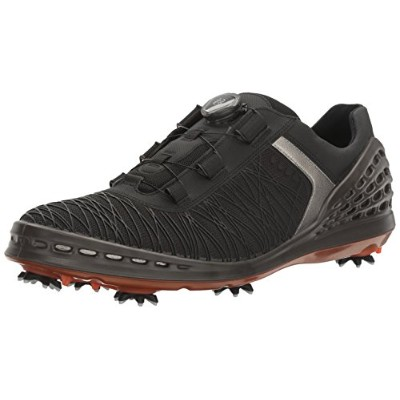 [エコー] ゴルフシューズ ECCO GOLF CAGE 132524 BLACK/FIRE EU 40(25.5 cm) 3E