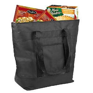 Insulated Grocery Bag By Lebogner - X-Large 37.9l Capacity Vacation Cooler Bag For Hot Or Cold Food...