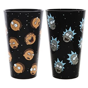 Rick and Morty Exclusive Pint Glass Set – Rick and Morty Heads