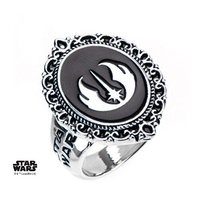 Star Wars, Jedi Glit Cameo Ring, Size - 8
