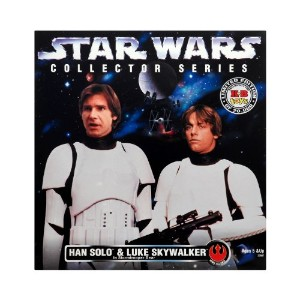 12 inches Star Wars Han Solo & Luke Skywalker in Stormtrooper Gear スター・ウォーズ ハン・ソロ&ルーク・スカイウォーカー...