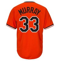 Eddie Murray Baltimore Orioles Cool Base Cooperstownオレンジジャージー オレンジ