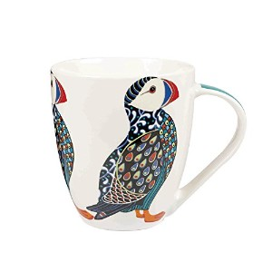 Queens Fine China Couture Puffin Mug, Multi-Colour by Queens
