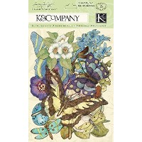 K&Company Susan Winget Die-Cut Cardstock and Acetate, Botanical by K&Company [並行輸入品]