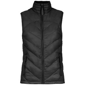 Track & Field quilted vest - ブラック