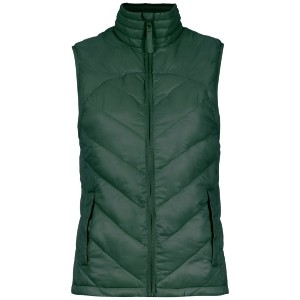 Track & Field quilted vest - グリーン