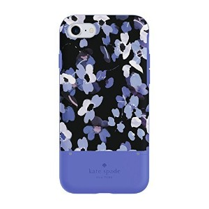 kate spade new york Credit Card Case for iPhone 7 - August Scattered Hydrangea Blue Multi [並行輸入品]