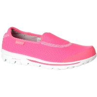 Skechers Go Recovery Womens, Hot Pink/White, 37.5 EUR, B