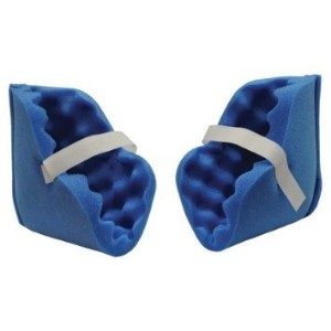 Eggcrate Foam Heel Blue- Ankle Protector- Deluxe (pair) 2 by McKesson