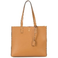 Mark Cross structured tote bag - ブラウン